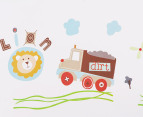 Lion, Truck & Helicopter Wall Decal/Sticker 2