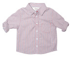 Bebe By Minihaha Zac Long Sleeve Striped Shirt - Utah 1