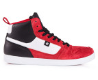 DC Men's Landau High Unrestricted Shoe - Red/Black 1