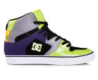 DC Men's Pro Spec 3.0 TX Shoe - Black/Soft Lime 1