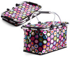 Easy Insulated Collapsible Shopping Carrier - Retro 1