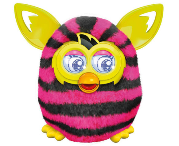 CatchOfTheDay.com.au | Furby Boom Sweet - Pink/Black Stripes
