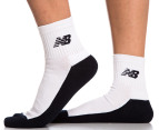 New Balance Women's Size 6-10 Socks 3-Pack - Navy/White 4