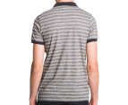 Globe Men's Moonshine Polo - Black Mini Stripe 3