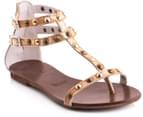Mollini Lycira Sandals - Distressed Gold 4