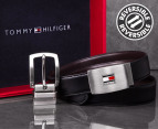Tommy Hilfiger Reversible Leather Belt Gift Pack 1