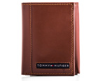 Tommy Hilfiger Cambridge Trifold Pull-Up Wallet - Tan 4