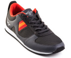 Creative Recreation Men's Dechico - Charcoal/Papaya  4