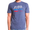 Rusty Men's Board Co. Tee - Navy Heather 1