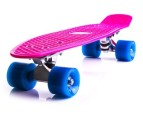 Retro Skateboard - Pink/Blue 1