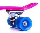 Retro Skateboard - Pink/Blue 2