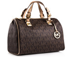 Michael Kors Grayson Large Satchel - Brown 2