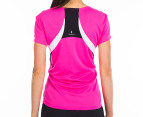 New Balance Women's Tech Tee - Pink Glow 3