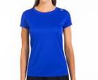 New Balance Women's Go 2 Short Sleeve Tee - Azurite 1