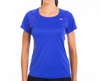 New Balance Women's Boylston Tee  - Azurite 1