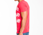 Freshjive Men's Cracked Tee - Vintage Red 2