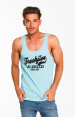 Freshjive Men's League Tank - Turqoise 4