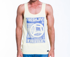 Freshjive Men's Cali Tank - Lemon 1