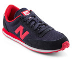 New Balance Men's 410 Shoes - Navy/Red  4