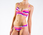 All About Eve Size 8 Bri Crossover Bikini Set - Summer 1