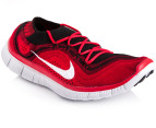 Nike Men's Free Flyknit+ Size 11.5 - Black/Red 4