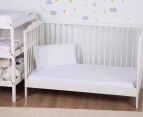 Bubba Blue Cot Sheet Set 3-Piece - White  5