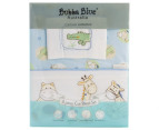 Bubba Blue Jungle Jungle Cot Sheet Set - Blue 1