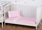 Bubba Blue Butterfly Garden Cot Sheet Set - Pink 4