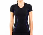 SKINS Women's A200 Compression Short Sleeve Top 1