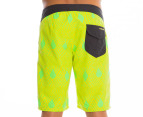 Volcom Men's 45th St. Board Short - Lime Paint  3