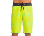 Volcom Men's 45th St. Board Short - Lime Paint  1
