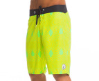 Volcom Men's 45th St. Board Short - Lime Paint  2