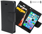 Press Play PocketFolio Wallet Case for iPhone 5/5S - Black 1