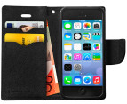 Press Play PocketFolio Wallet Case for iPhone 5/5S - Black 3