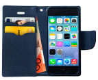 Press Play PocketFolio Wallet Case for iPhone 5/5S - Red/Navy 3