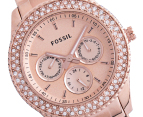 Fossil Women's Stella Glitz Watch - Rose Gold 2