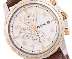 Fossil Men's Dean Chrono Watch - Brown 2