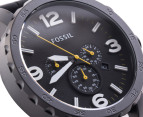 Fossil Men's Nate Chrono Watch - Black 2
