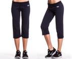 Everlast Women's 3/4 Yoga Pant - Navy 1