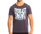 Everlast Men's Glory Fighter Tee - Charcoal Marle 1