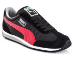 PUMA Men's Whirlwind Classic - Black/Haute Red 1