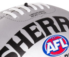 Sherrin Soft Touch Junior 22cm Football - Silver 3