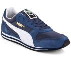 PUMA Men's Fieldsprint - Dark Denim/White 4
