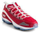 Reebok Men's DMX Run 10 - Red/White/Silver 4