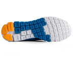 Reebok Men's RealFlex Run 2.0 - Gravel/Blue/Orange/White 3
