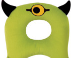 BenBat Travel Friends Neck Pillow - Green Cyclops 2