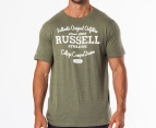 Russell Athletic Men's Woodland Utility Tee - Hunter 1