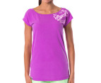 Russell Athletic Women's Ivy Stamp Tee - Bloom 1