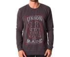 Lee Men's Union Crew Jumper - Vintage Black 1