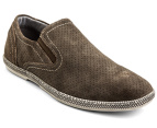 Julius Marlow Men's Combo Shoe - Marron Suede 1